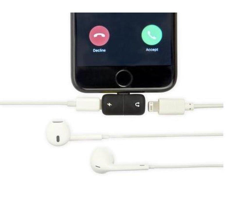 Kikkerland Adapter Splitter Charge & Listen