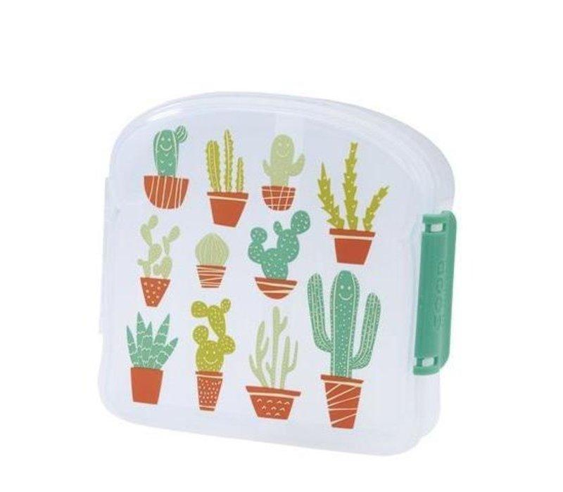 Sugarbooger Good Lunch Sandwich Box Happy Cactus