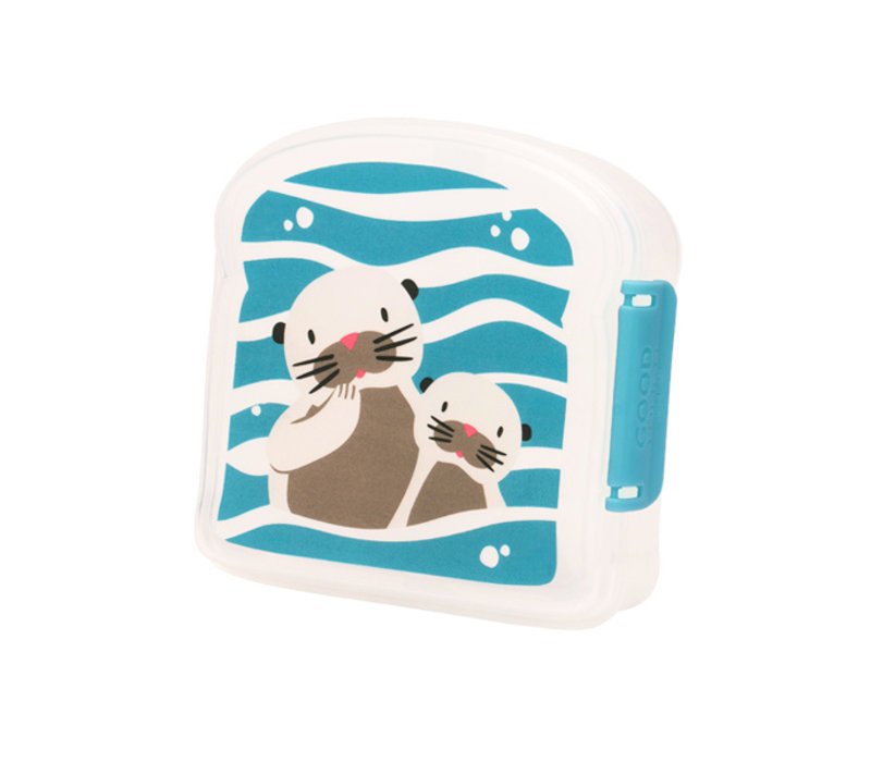 Sugarbooger Good Lunch Sandwich Box  Baby Otter