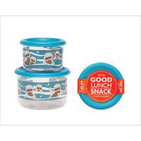 Sugarbooger Good Lunch Set van 2 Snackdoosjes Baby Otter