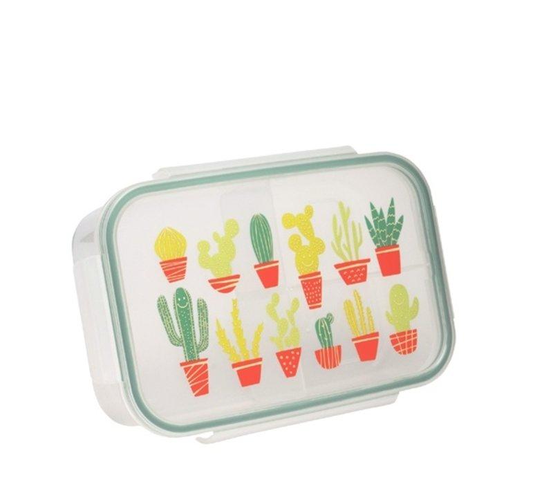 Sugarbooger Good Lunch Bento Box Happy Cactus
