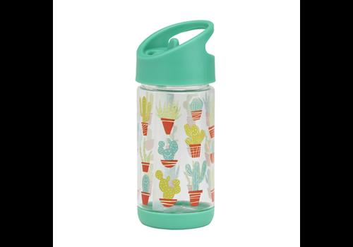 Sugarbooger Sugarbooger Flip & Sip Drinking Bottle Happy Cactus