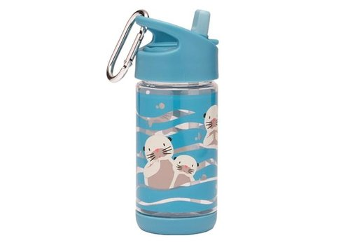 Sugarbooger Sugarbooger Flip & Sip Drinking Bottle Baby Otter