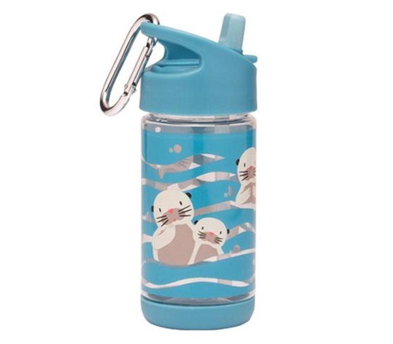 Sugarbooger Flip & Sip Drinking Bottle Baby Otter