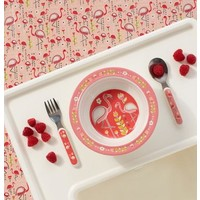 Sugarbooger Suction Bowl Flamingo