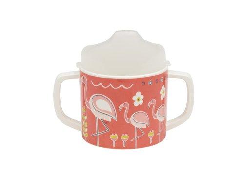 Sugarbooger Sugarbooger Sippy Cup Flamingo