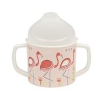 Sugarbooger Sippy Cup Flamingo