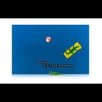 Leuke Kaartjes Greeting Card Crocodile Relax It's Your Birthday