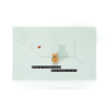 Leuke Kaartjes Leuke Kaartjes Greeting Card Little Bear Grote Avonturen Beginnen Klein (Light Green)