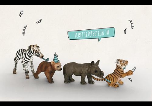 Leuke Kaartjes Leuke Kaartjes Greeting Card Polonaise Teretteteteeteuh!!!