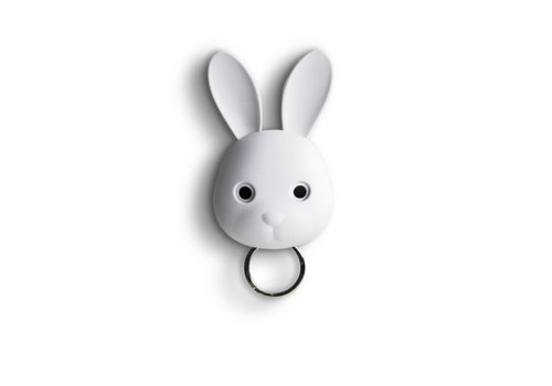 Qualy Qualy Bella Bunny Sleutelhanger Wit