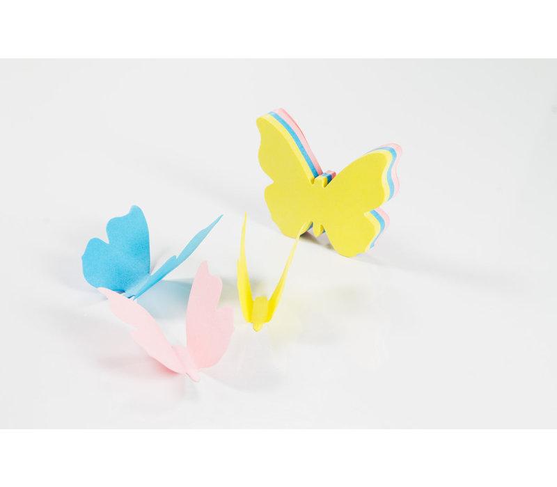Suck UK 3D Butterfly Sticky Notes