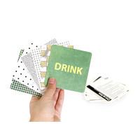 Suck UK Bar Games Drink Mats