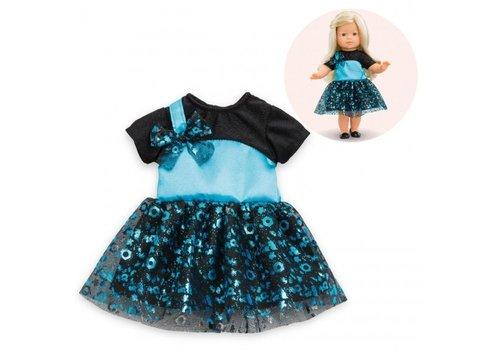 Corolle Corolle Ma Corolle Ball Dress Black/Turquoise