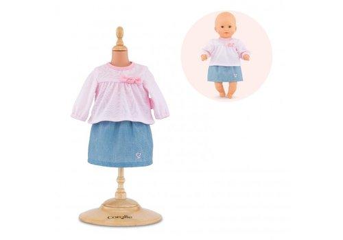 Corolle Corolle Top & Skirt for Dolls 30 cm