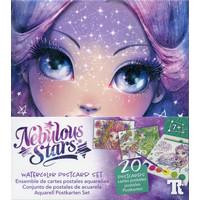 Nebulous Stars Watercolor Postcard Set