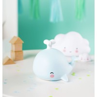 A Little Lovely Company Mini Lamp Whale