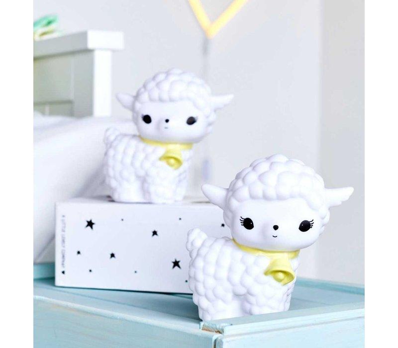 A Little Lovely Company Mini Lamp Lammetje