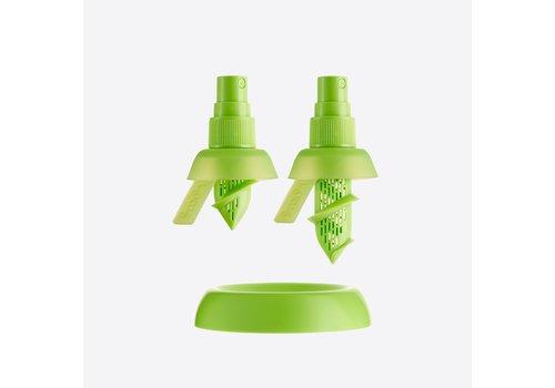 LEKUE Lekue Set of 2  Citrus spray for Green Lemons Green and Lemons