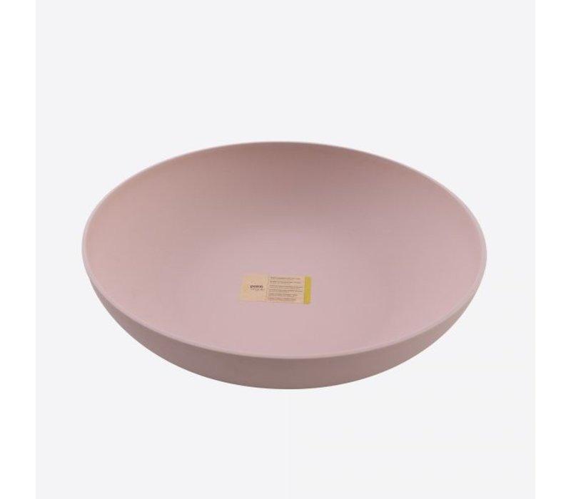 Point Virgule Bamboo Fiber Bowl Blush Pink 32 cm