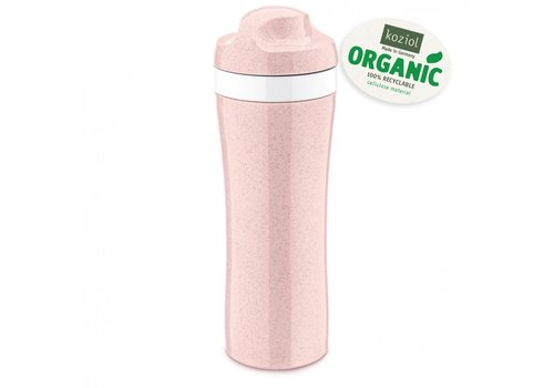 Koziol Koziol Drinking Bottle Oase Pink 425 ml