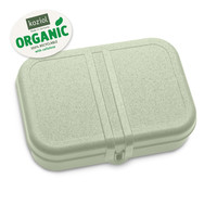 Koziol Lunch Box Pascal with Separator Eucalyptus Green