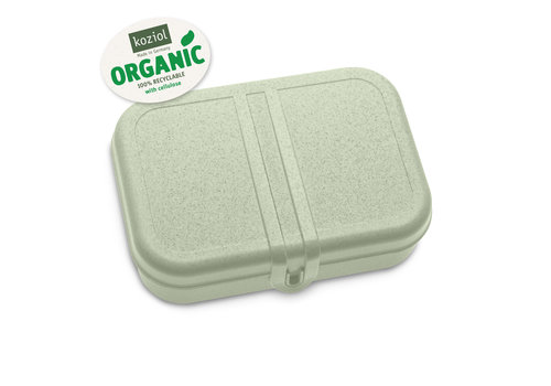 Koziol Koziol Lunch Box Pascal with Separator Eucalyptus Green