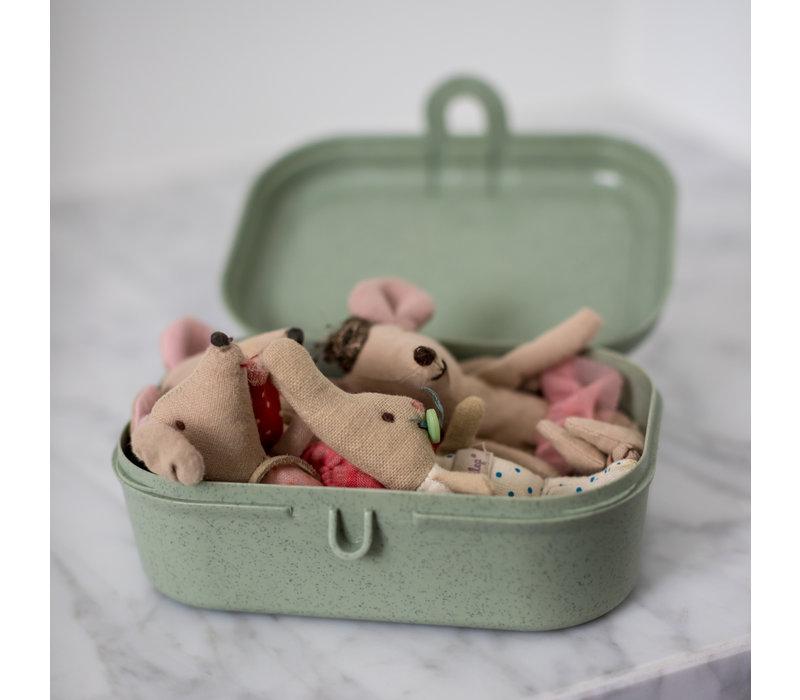 Koziol Compact Lunch Box Pascal Eucalyptus Green