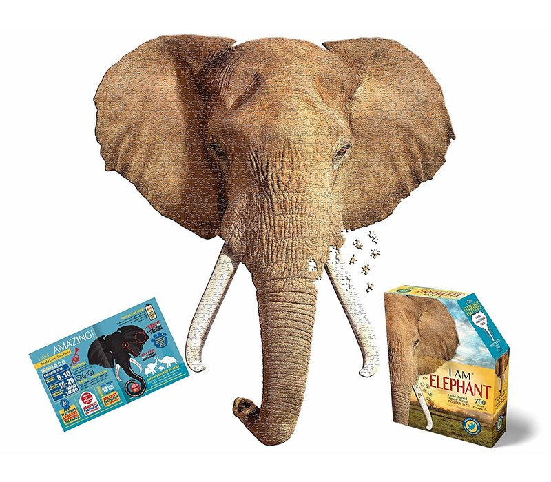 Madd Capp Jigsaw Puzzle I Am Elephant 700 pc