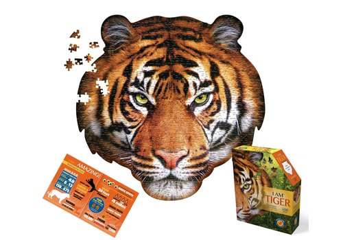 4M Madd Capp Jigsaw Puzzle I Am Tiger 550 pc