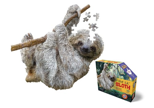 4M Madd Capp Jigsaw Puzzle I Am Lil Sloth 100 pc
