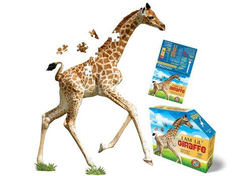 Madd Capp Madd Capp Legpuzzel I Am Lil Giraffe 100 st