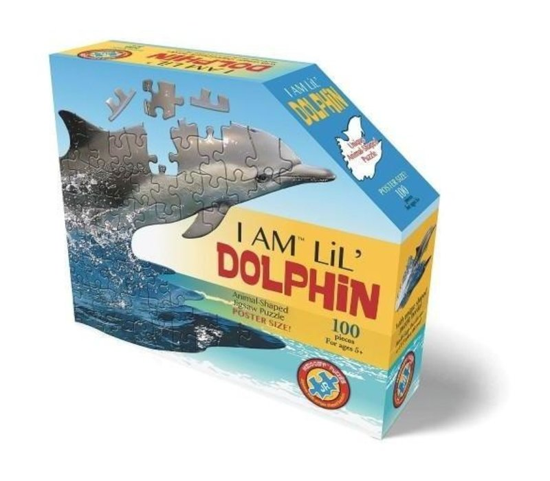 Madd Capp Jigsaw Puzzle I Am Lil Dolphin