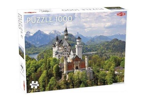 Tactic Tactic Jigsaw Puzzle Neuschwanstein Castle 1000 pc