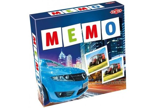 Tactic Tactic Vehicles Memo Game