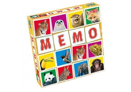 Tactic Tactic Wild Animals Memo Game