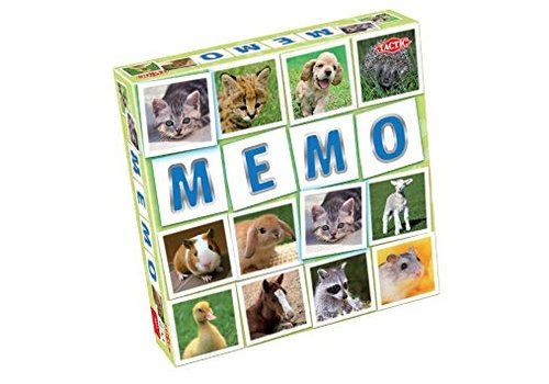 Tactic Tactic Baby Animals Memo Game