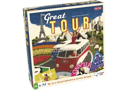 Tactic Tactic The Great Tour Board Game