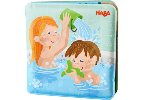 Haba Haba Bath Book Paul & Pia Wash Day