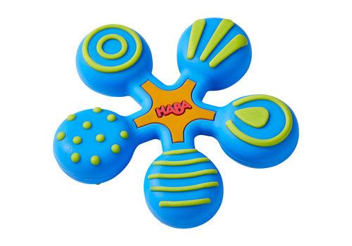 Haba Haba Teething Toy Star Blue