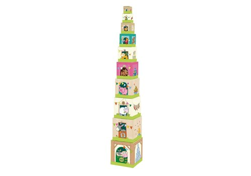Haba Haba  Stacking Cubes On the Farm