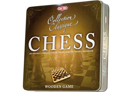 Tactic Tactic Chess Wooden Game