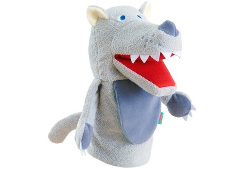 Haba Haba Glove Puppet Eat-It-Up Wolfi
