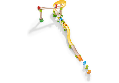 Haba Haba Kullerbü Marble Track - Play Track Number and Color Rally