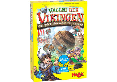 Haba Haba Board Game Valley of the Vikings