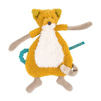 Moulin Roty Pacifier with Teething Ring Fox 'Le Voyage d'Olga'