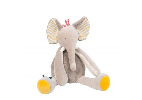 Moulin Roty Moulin Roty Olifant Knuffel 'Les Papoum'