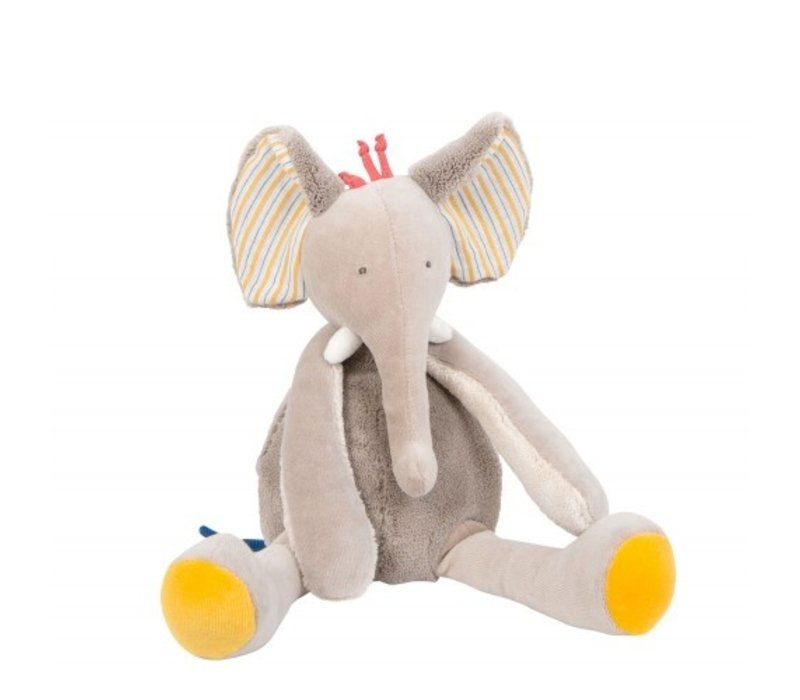Moulin Roty 'Les Papoum' Elephant Cuddly Toy