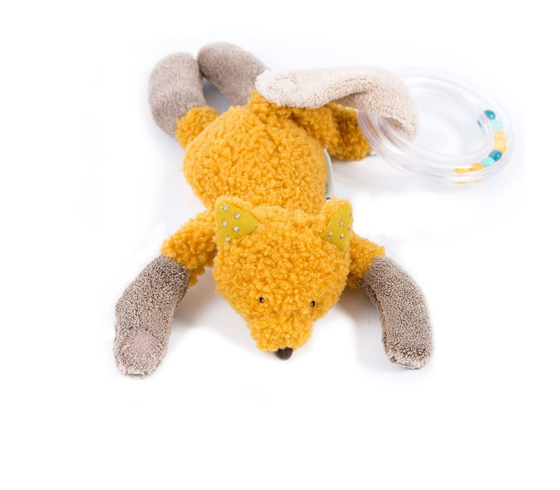 Moulin Roty 'Le Voyage d'Olga' Ring Rattle Fox