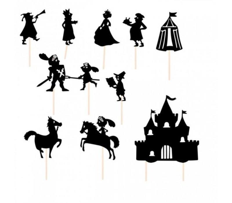 Moulin Roty Schaduwspel De Ridders
